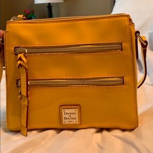 Dooney & bourke patent leather crossbody